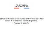 Informe Epidemiológico Covid 19 del 23/10