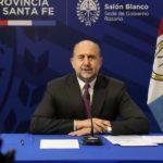 El gobernador Omar Perotti participó del anuncio de la primera etapa del Acueducto Santa Fe – Córdoba